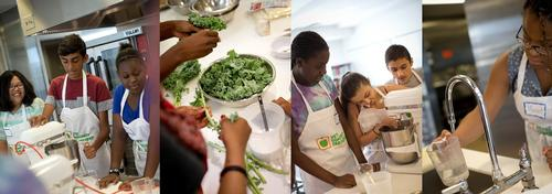 Kids Cook at #SummerThymeCooks